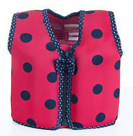 Детский плавательный жилет Konfidence Original Ladybird Polka (KJ05-C)
