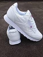 Кроссовки Reebok Classik белые мужские , фото 1