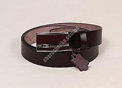 Ремень мужской кожаный 2607