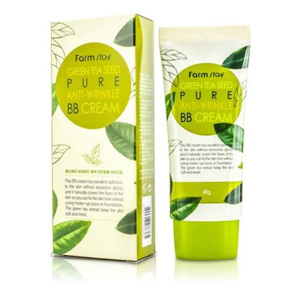 ББ крем FarmStay Green Tea Seed Pure Anti-Wrinkle BB Cream