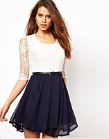 Гипюровое платье летнее женское весна лето 2016