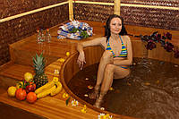 Деревянная бочка для бани