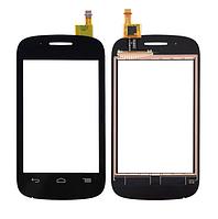 Оригинальный тачскрин / сенсор (сенсорное стекло) Alcatel One Touch Pop C1 4015 4015A 4015D 4015N 4015X черный