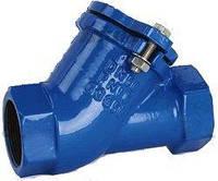 Клапан обратный канализационный муфтовый Ду 32
