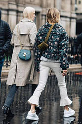 Модные луки верхней женской одежды осень-зима 2017