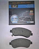 Тормозные колодки передние Honda CR-V III