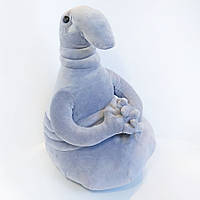 Мягкая игрушка Ждун серый 38см