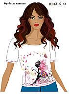 """Женская футболка c рисунком """"Фея цветов''"""