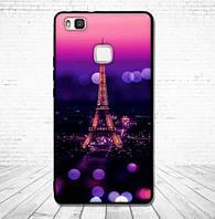 Силиконовый чехол для Huawei P9 Lite с картинкой Париж ночью