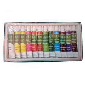 Акрилові фарби YRE 12 кольорів 12 мл