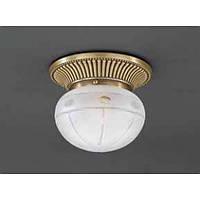 Потолочный светильник RECCAGNI ANGELO PL 7704/1 bronzo/ satin molato