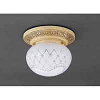 Потолочный светильник RECCAGNI ANGELO PL 7940/1 avorio/oro bianco impero
