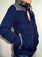 Куртка (парка) пуховик на холлофайбере мужская зимняя 2016-17