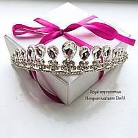 """Шикарная диадема """"Аника"""" для невесты и на выпускной."""