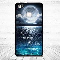 Оригинальный чехол накладка для Huawei P9 Lite с картинкой Луна