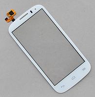 Оригинальный тачскрин / сенсор (сенсорное стекло) Alcatel One Touch Pop C5 5036A 5036D 5036X 5037A 5037E белый