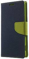 Чехол-книжка TOTO Book Cover Mercury LG Max X155 Dark/Blue