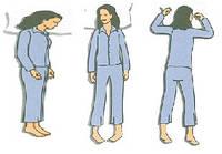 Как позы сна влияют на выбор матраса