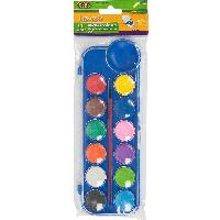 Краска акварельная Zibi 12 цветов