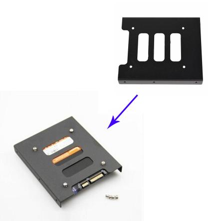 Адаптер Кронштейн 2.5-3.5 HDD Метал #100429