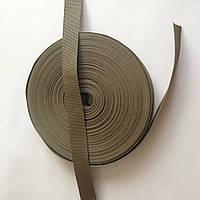 Полиамидная ременная лента, ширина - 40 мм, цвет - оливковый, артикул СК 5165, фото 1