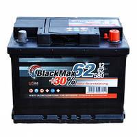 Аккумулятор BlackMax 62 +правый 580 А