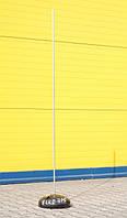 Молниеприемник с бетонным основанием (1м, 2 м, 3 м, 4 м)