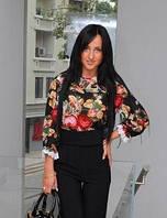 Женская блузка Розочки