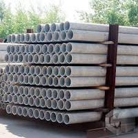 Асбестовая (асбесто-цементная) труба безнапорная БНТ Ø 200 мм (L-3,95 м.) + муфта уплотнительная