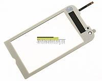 Сенсорний екран для мобільних телефонів Samsung S8000 Jet, S8003, original білий