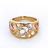 Кольцо перстень 17р. xuping медзолото 248