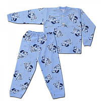 Детская пижама с начесом для девочки и мальчика