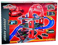 Городской гараж, игровой набор с машинкой, Majorette