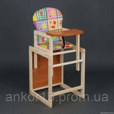 Деревянный детский стульчик трансформер «Сова»