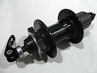 Втулка задняя алюминиевая под касету и диск, 9/8 скоростей 36H