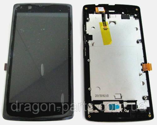 Дисплей Lenovo A2010 с сенсором черный/black , оригинал 5D68C02927, фото 2