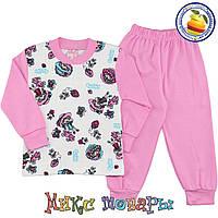 Пижамы для девочек производство Турция Размеры: 86-92-98-104 см (4826-3)