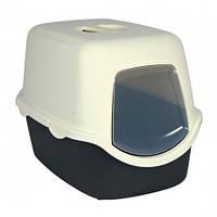 TRIXIE (Трикси) Туалет закрытый для кошек с дверью DIEGO c фильтром 40х40х56см,