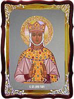 Икона под серебро Святая Тамара, царица Грузии  в церковной лавке
