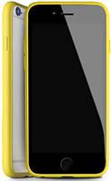 Чехол-накладка DUZHI Super slim Mobile Phone Case iPhone 6/6s Clear\Yellow