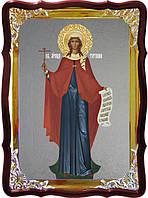 Храмовая икона под серебро Святая Татьяна ростовая в церковной лавке