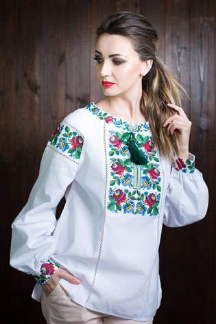 3776ecec1848c53 Красивая женская вышиванка белого цвета : продажа, цена в ...