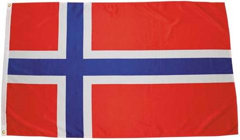 Национальный флаг Норвегии 90х150см MFH 35103X