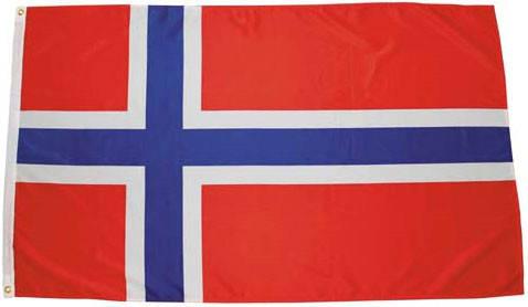 Национальный флаг Норвегии 90х150см MFH 35103X, фото 2