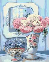Картина по номерам Бирюзовый натюрморт КНО2038