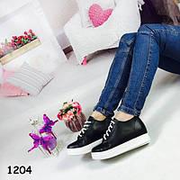 Женские ботиночки на шнурках