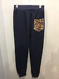 Комбинированные спортивные штаны 140,146 см, фото 3