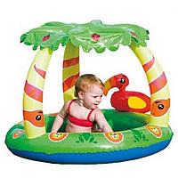 Надувной детский бассейн Bestway 52179  99 х 91 х 71 см надувное дно
