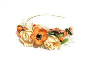 Обруч Цветы для девочек 45796