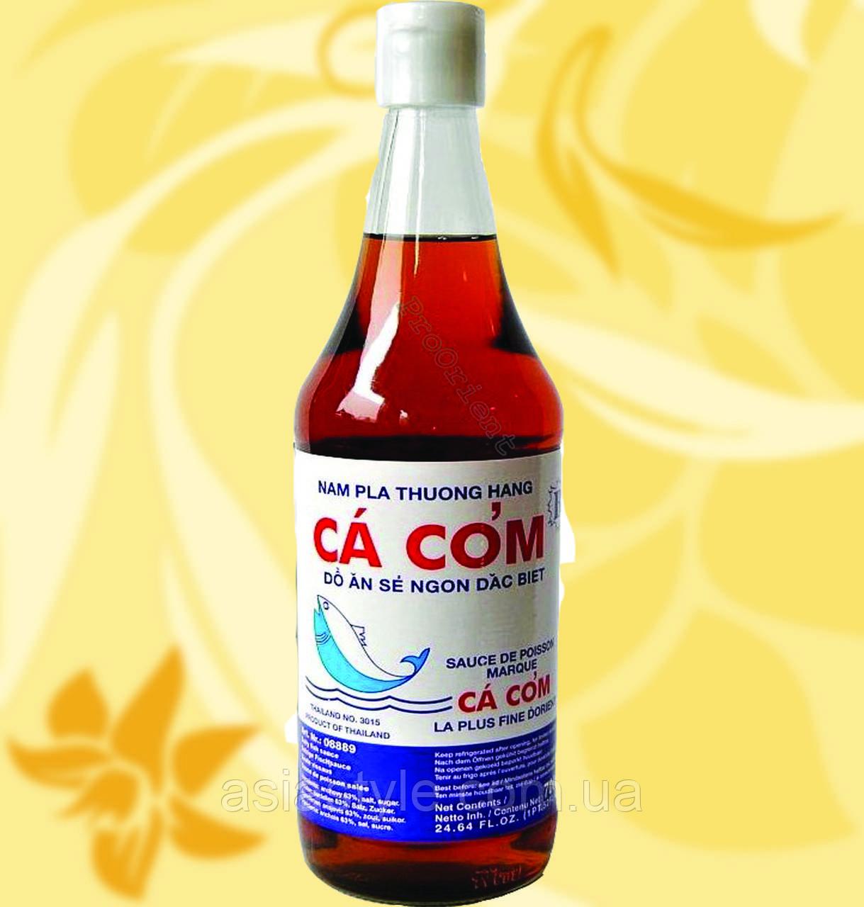 Рибний соус, NAM PLA, Ca Com, Kat B, 700мл, Таїланд, Анчоус 66%, R